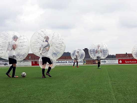 Bubble Fußball in der Region Nürnberg