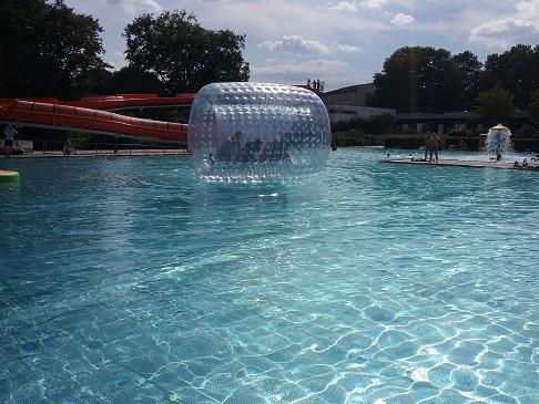 Der Zylinder - für Events im Bad oder auf dem See