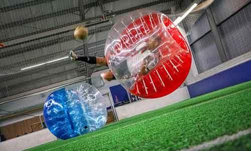 Bubble Soccer als Teamevent
